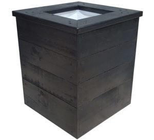 Planter box 410 410 475 internal pot