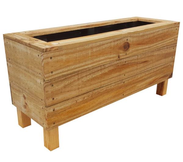 Planter box with legs