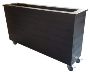 1.5m café barrier planter box