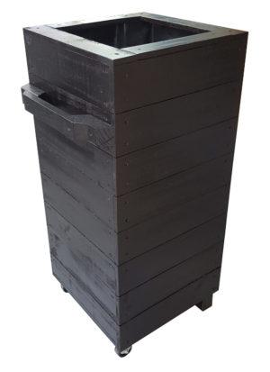 Café barrier planter box