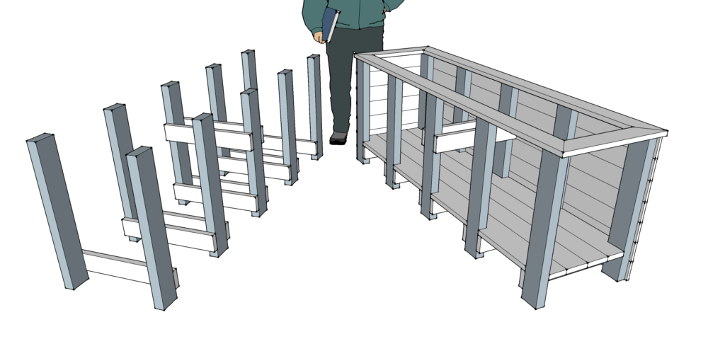 frame and joist example