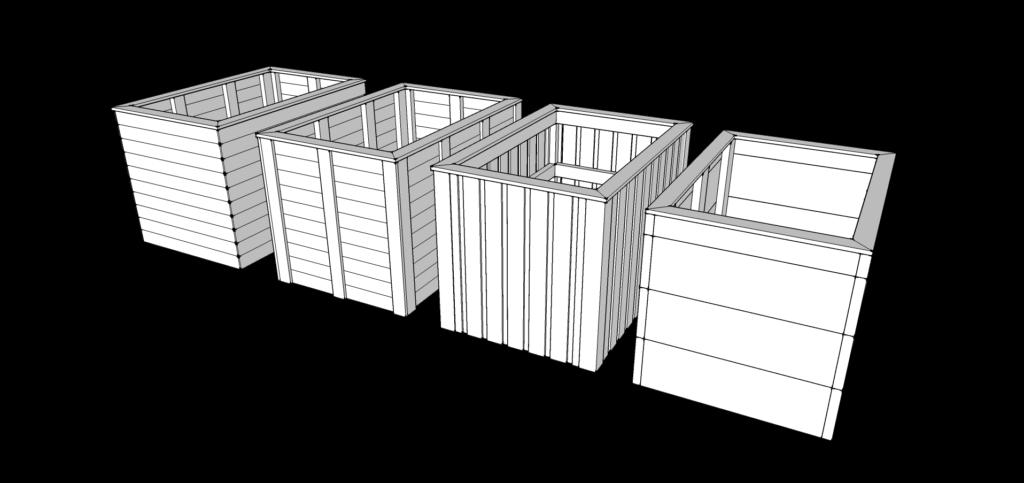 Garden Beds 3d