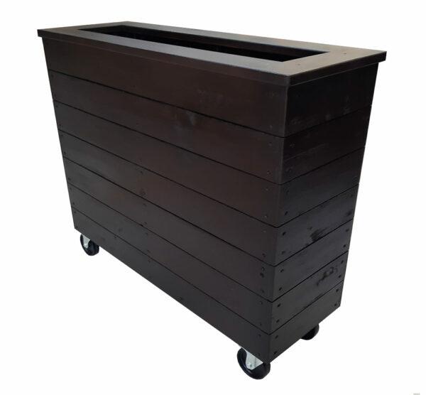 café barrier planter box small