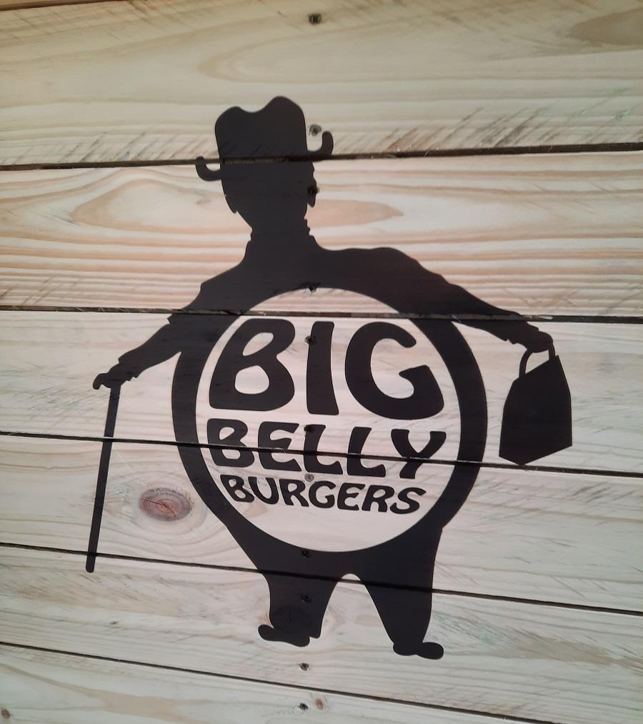 big belly planter box sprayed logo