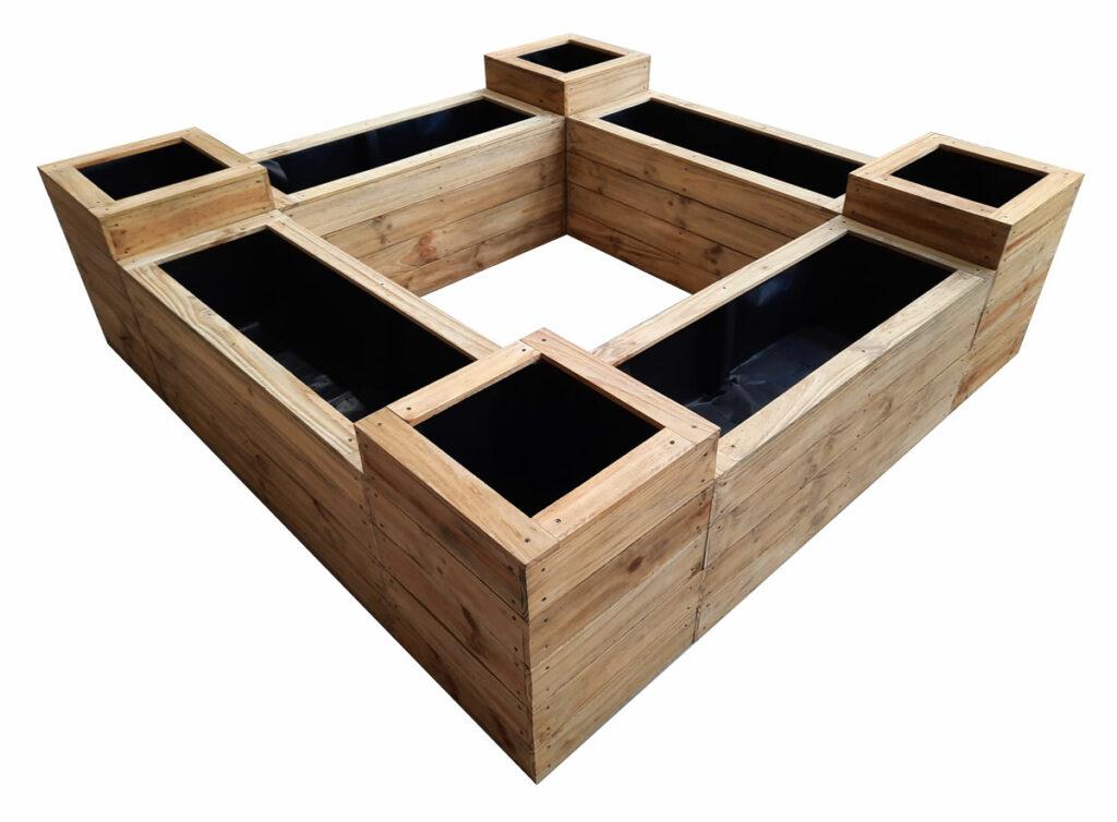 planter box 400 wide set